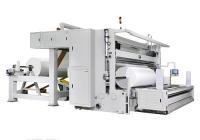 EG-2001G Одношпиндельная бобинорезательная машина с контактной резкой/перемоткой для нетканных материалов